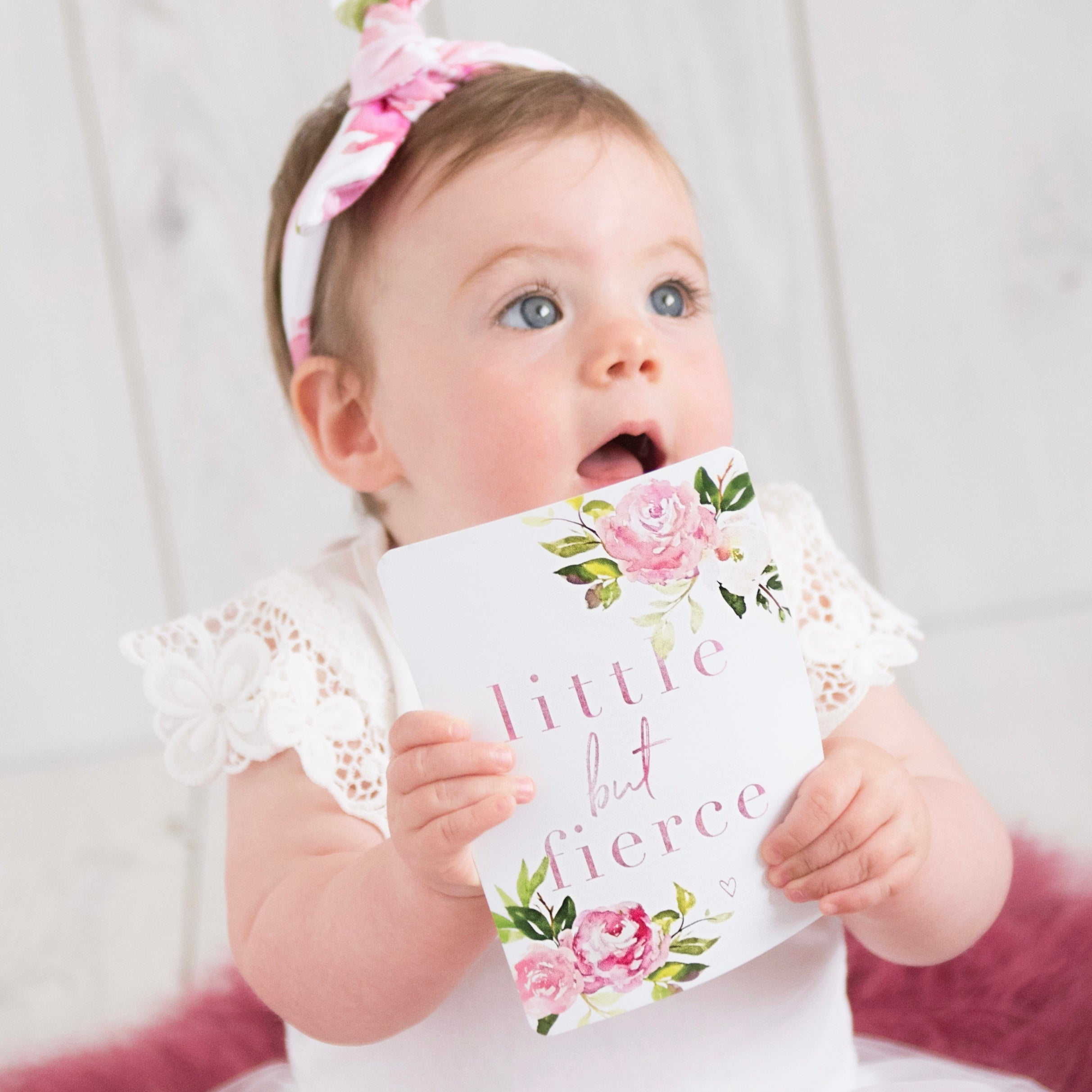 Baby Milestone Cards | Luxe Collection |  The Sunset Rose Stylish Baby Milestone Cards + Baby Announcement Baby Wraps + swaddles - - AfterPay - Free Shipping - lovepaperink.com.au
