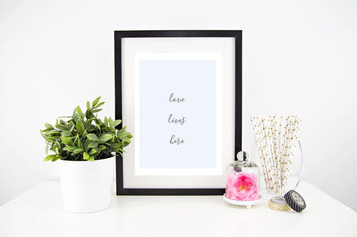 Love Lives Here - Stylish Baby Milestone Cards + Baby Announcement Baby Wraps + swaddles. Global Shipping lovepaperink.com.au