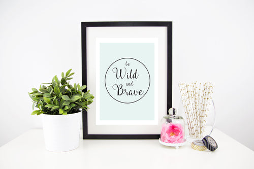 Be Wild & Brave Stylish Baby Milestone Cards + Baby Announcement Baby Wraps + swaddles - - AfterPay - Free Shipping - lovepaperink.com.au