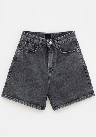 Charm Wide Denim Shorts