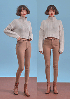 Going Back Cropped Knit Top