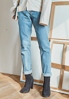 Easy Denim Pants