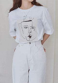 Face Drawing Tee