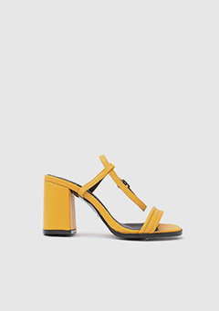 Leather Strap Heel