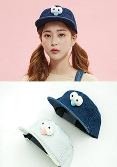 Elmo Denim Hat