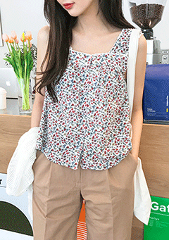Flower Lace Sleeveless