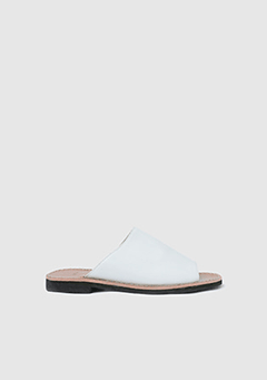 Plain Wide Slipper
