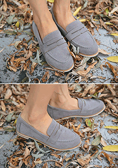 Autumn Suede Loafer