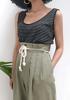 Tidy Stripe Sleeveless