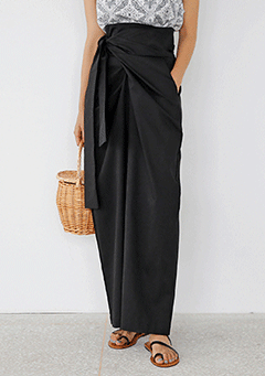 Chic Wide-Wrap Pants