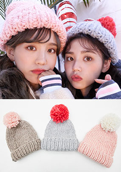 Lovely Color Winter Hat