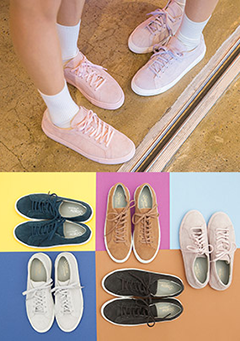Simple Pastel Color Sneakers