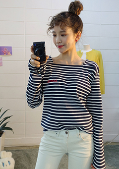 LOVER Stripe Tee