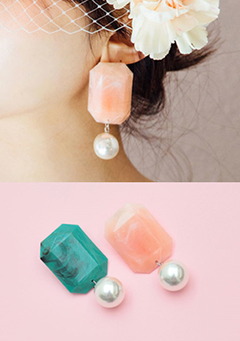 Candy Cube Earrings