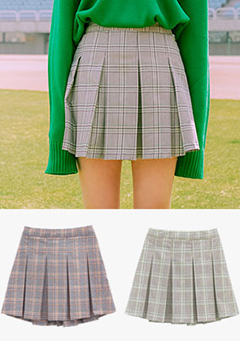 That Adorable Check Skirt