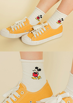 Cutesy Tootsey Mousey Socks