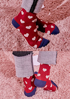 Think About Love Socks
