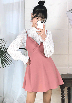 Give Me All Pinafore Dress