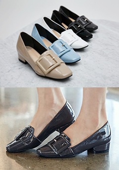 Belted Buckle Flat