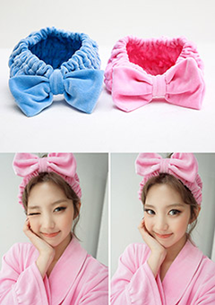 Bath Big Bow Hairband