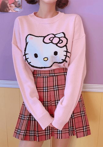 Hello Kitty X Chuu Knit Your Day Dream Knit