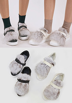 The Fluffiest Pair of Sandals