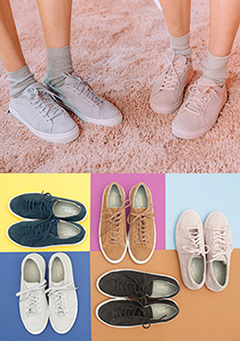 Springtime Essential Basic Sneakers