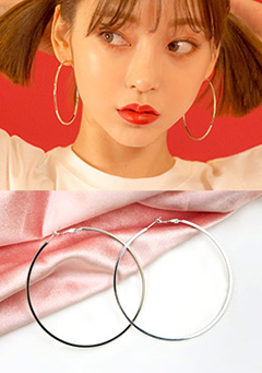 Silent Agreement Hoop Earrings