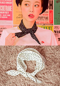 Dotted Romance Scarf