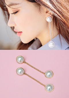 For Forever Pearl Earrings
