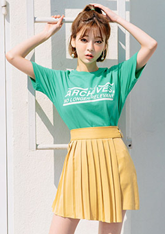 Be Cute Pleated Skirt