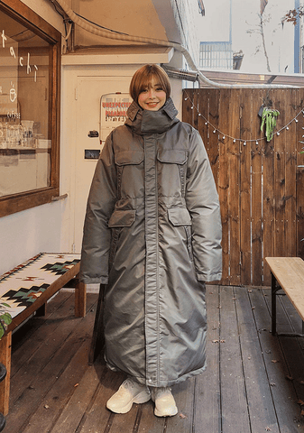 Winter Love Long Padded Coat