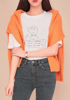 Charlie Brown Drawing Tee