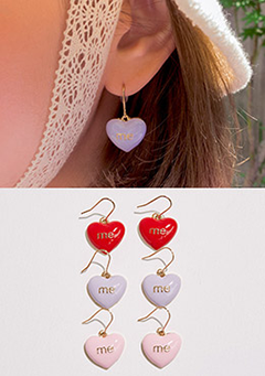 Please Love Me Earrings