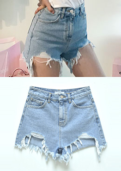Your Cold Touch Denim Shorts
