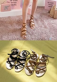 Until The End Sandals