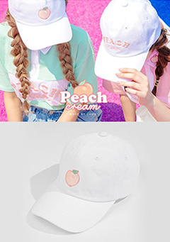 peach cream. Peach Milk Cap