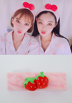 strawberry milk. Honey Syrup Hairband