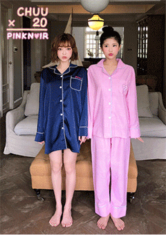 LEEGONG Pinknoir Holly Pink Pajama Set