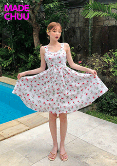 [CHUU MADE] Love Blossom Dress