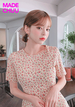 [CHUU MADE] A Flower Among Flowers Dress