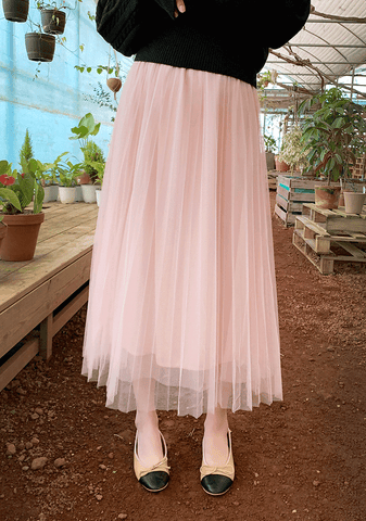 Ballerina Lace Long Skirt