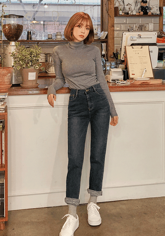Chic Daily Napped Jeans