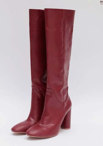 Intense Look Knee Boots