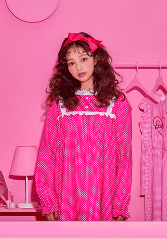 Barbie Room. Polka Dot Dress Pajama