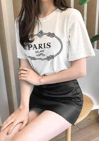 Velvet In Paris Tee