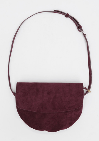 Suede Cut Little Bag