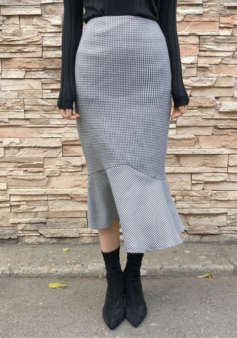 Classic Mermaid Pattern Skirt