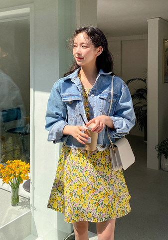 Nicole Vintage Denim Jacket