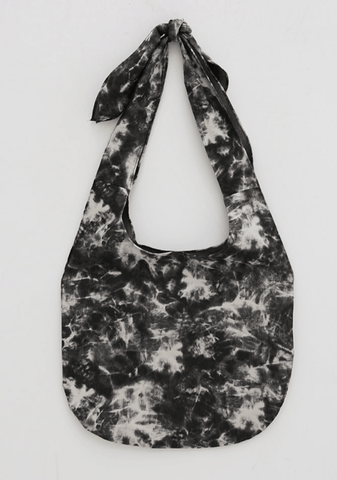 Tie-And-Dye Print Bag